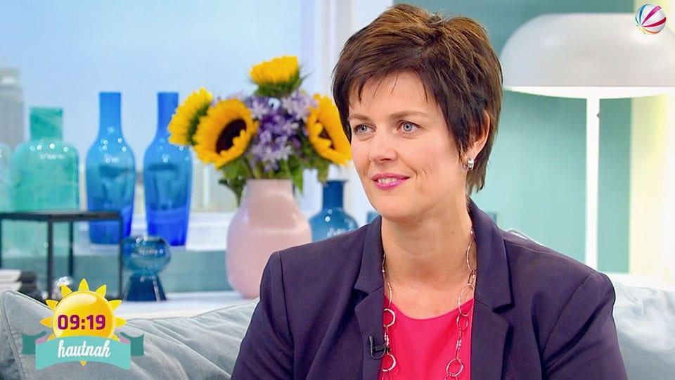 Melanie Kohl bei SAT1 im Frühstücksfernsehen
